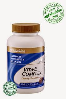 Vitamin e complex shaklee mempunyai selenium