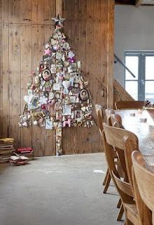Oríginal árbol de Navidad