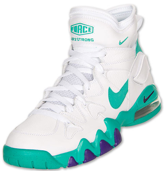 size 40 b801f 775e4 Nike Air Max 2 Strong White Violet Force-Atomic Teal Now Available