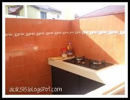 Dapur Basah Rumah Teres Desainrumahid Com