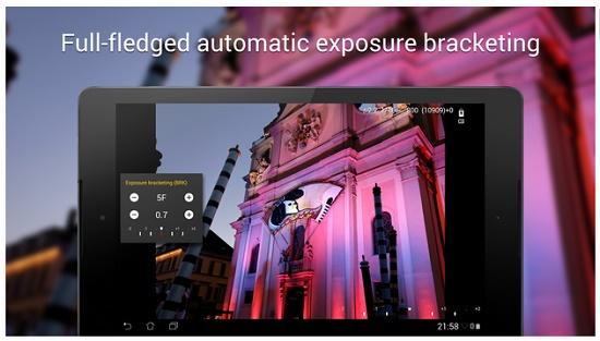 aplikasi kamera terbaik android berfitur DSLR