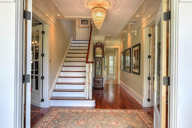 Southern Home-Foyer-Staircase-House Hunting- From My Front Porch To Yours