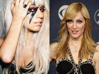 Lady Gaga e Madonna