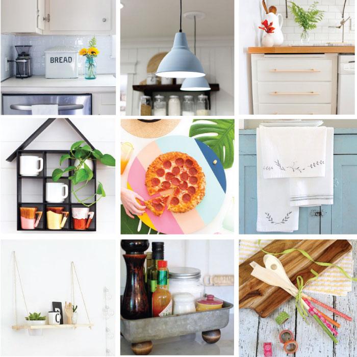 27 Rad DIYs for the Kitchen to Bookmark