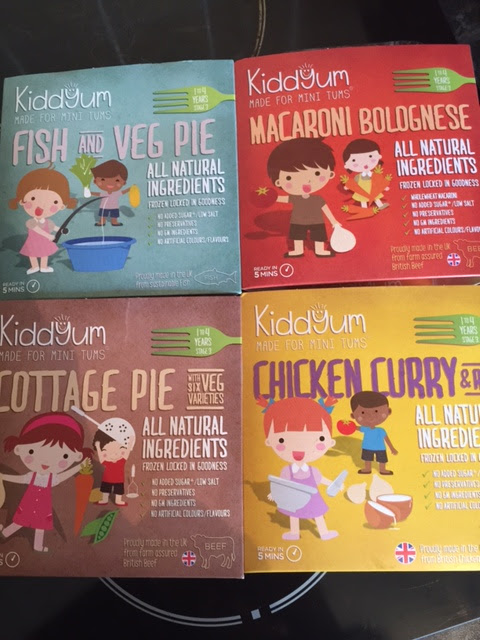 Kiddyum Frozen Ready Meals