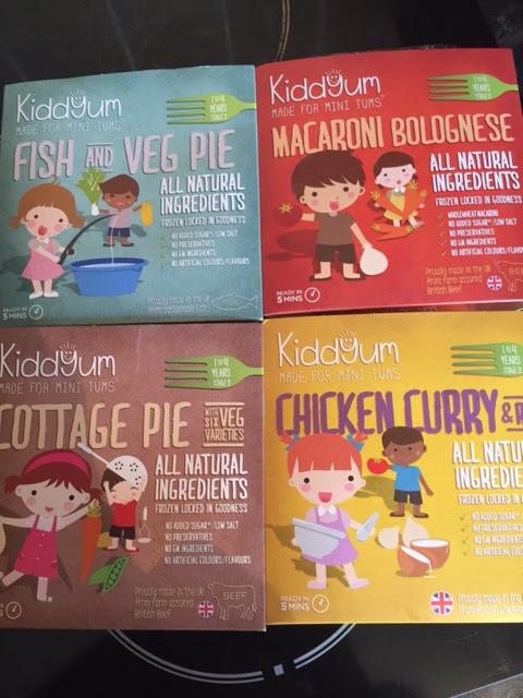 Kiddyum Frozen Ready Meals