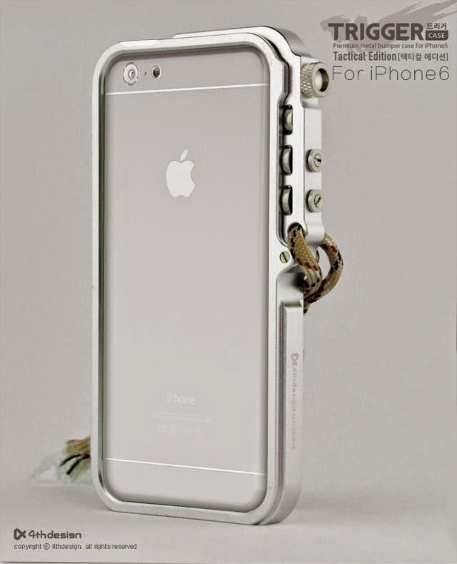 Apple Fashion: 4th Design TRIGGER Iphone 6 Perfect Case