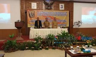 Wakil Bupati Sukabumi pada Acara Lounching dan pengenalan Sistem Pengelolaan Aset Desa (Sipades)