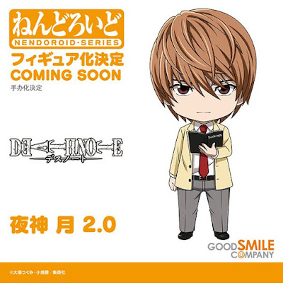 DEATH NOTE Nendoroid Light Yagami 2.0