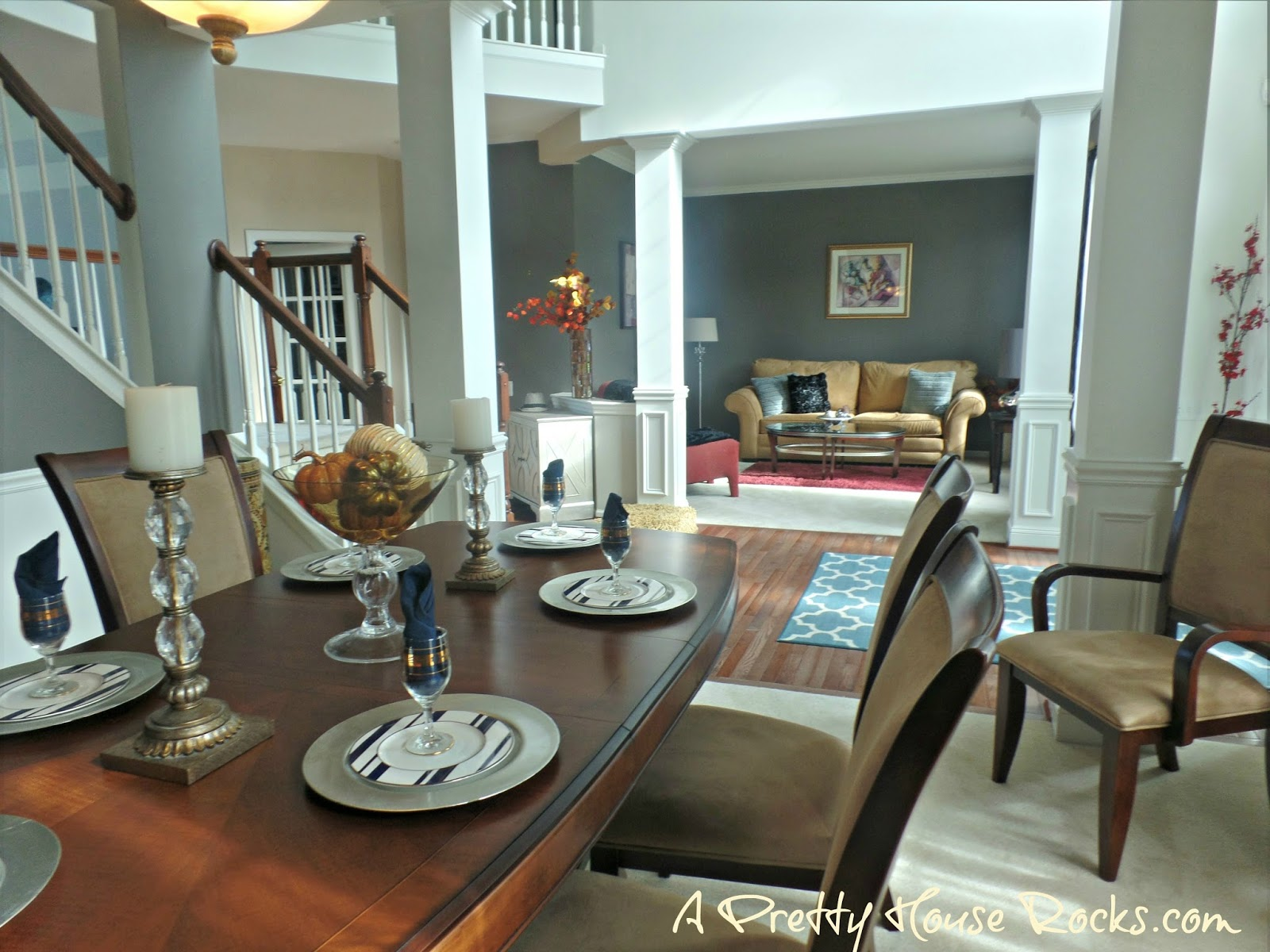perfect gray paint color to update a dining room a pretty house