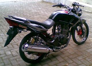 Honda Tiger Revo Modifikasi