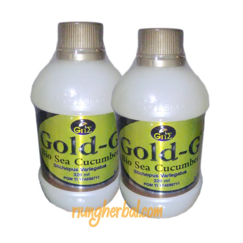 Jelly Gamat Gold G 320 ml Bandung