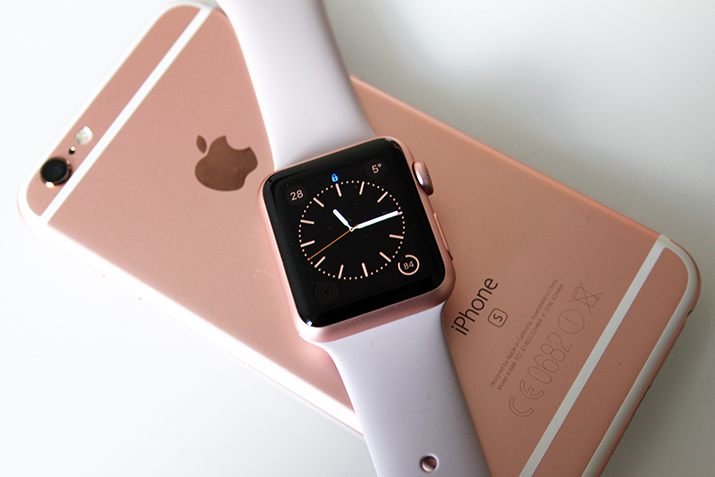 APPLE WATCH, ROSE GOLD