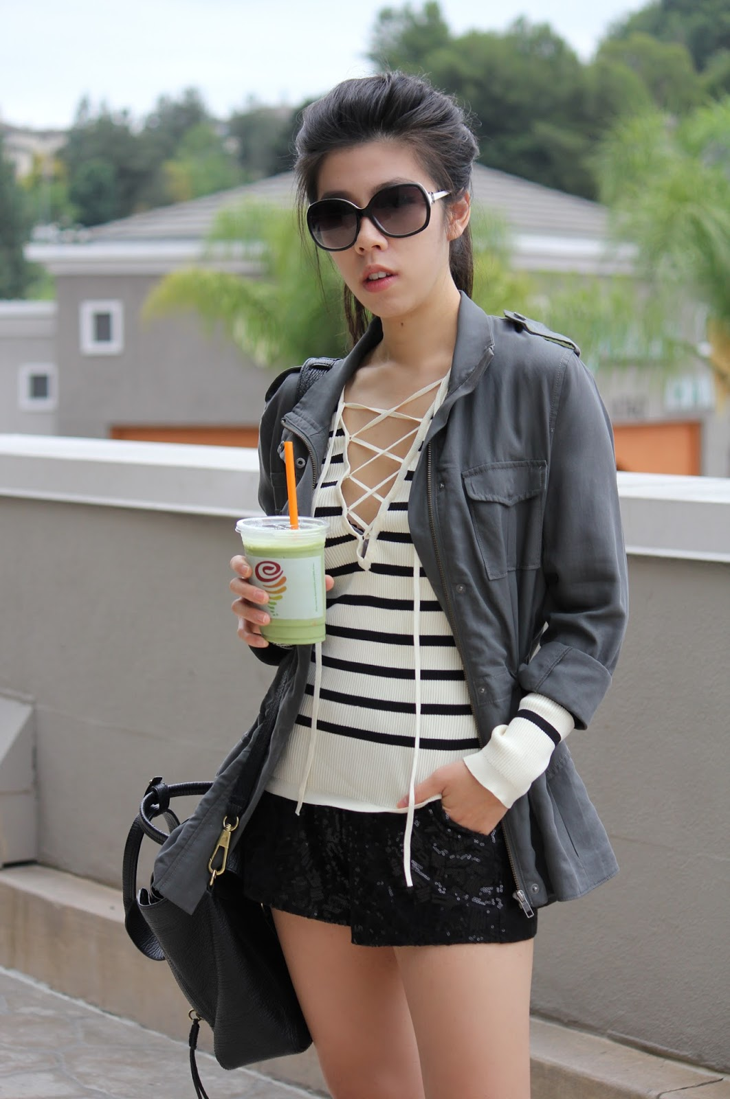 Adrienne Nguyen_Invictus_Energy Bowls Jamba Juice_What I Wore_Casual Weekend Style_California Cool