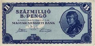 Uang Pecahan Terbesar (Hungaria)