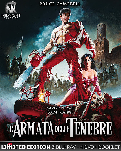 L'Armata delle Tenebre - cover box Midnight Factory
