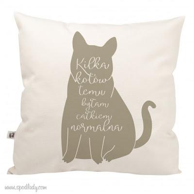 Poduszka Spod Lady Kilka Kotów temu