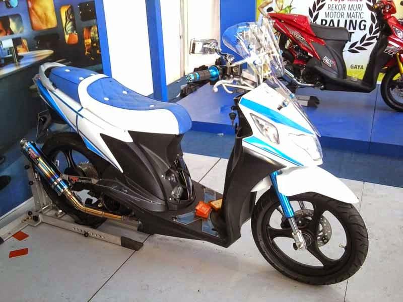 kumpulan modifikasi motor matic suzuki nex