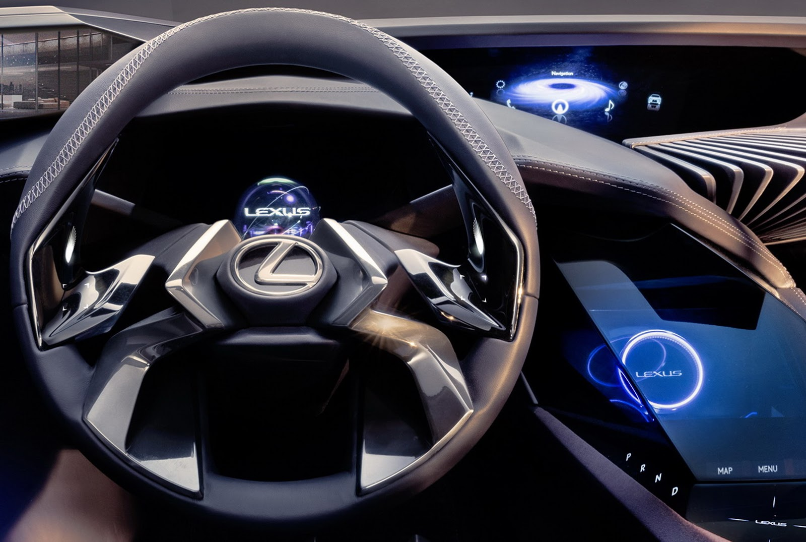 New Lexus Ux Crossover Concept S Interior Welcomes Us To