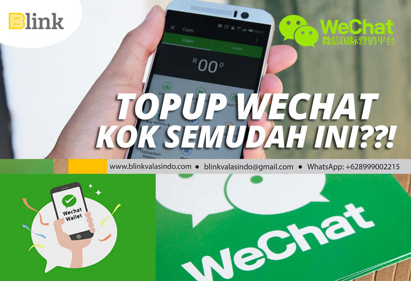 Top Up Wechat Wallet