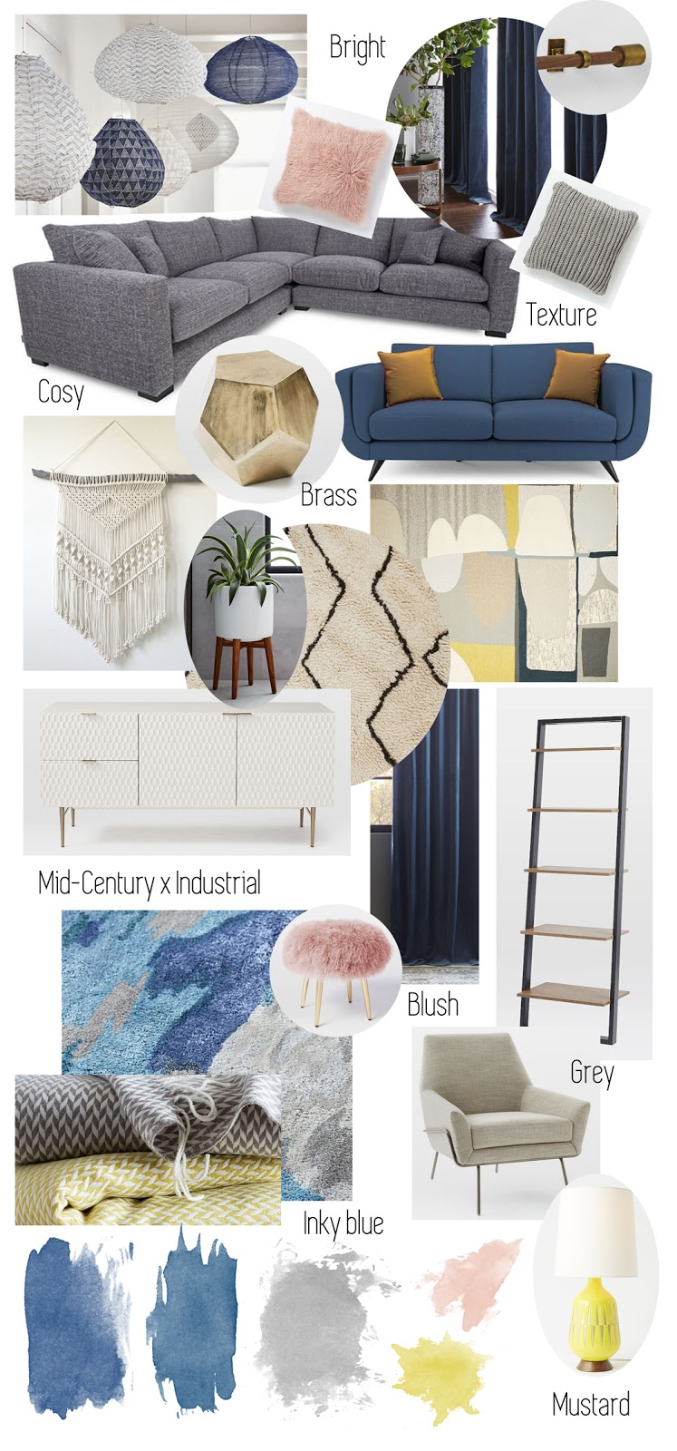 Our Dream West Elm Living Room