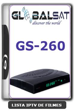 Globalsat GS260 Nova Atualização Melhoria no sistema e Correção do YouTube V1.34 - 20-01-2020