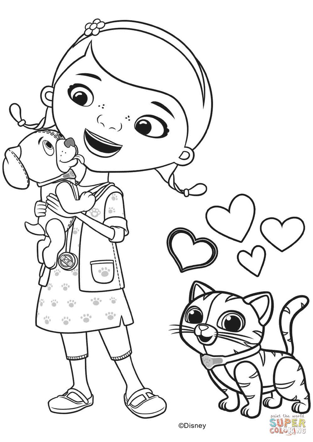 Aprende Brincando Desenhos Da Doutora Brinquedos E Amigos Para