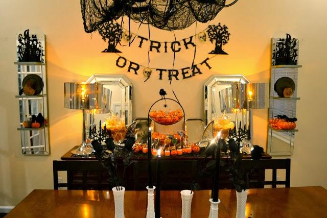 fascinating halloween dining room ideas | Life & Home at 2102: Halloween Dining Room 2013 - The ...