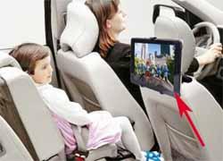 tablet jadi tv mobil