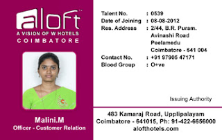 Vertical Identity Card Template-Hotel id card design - 01