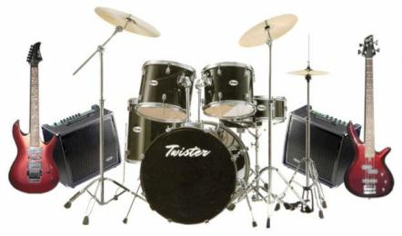 Jenis Jenis Alat Musik Harga Satu Set Alat Band Pro Studio