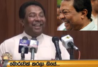 S. B. Dissanayake reveals a lie he did while in prison