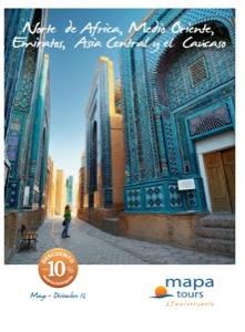 Mapa Tours catálogo de viajes Asia, África y Oriente 2016