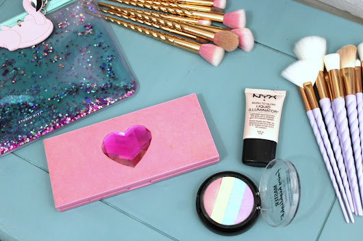 My Fave Unicorn Themed Beauty Products