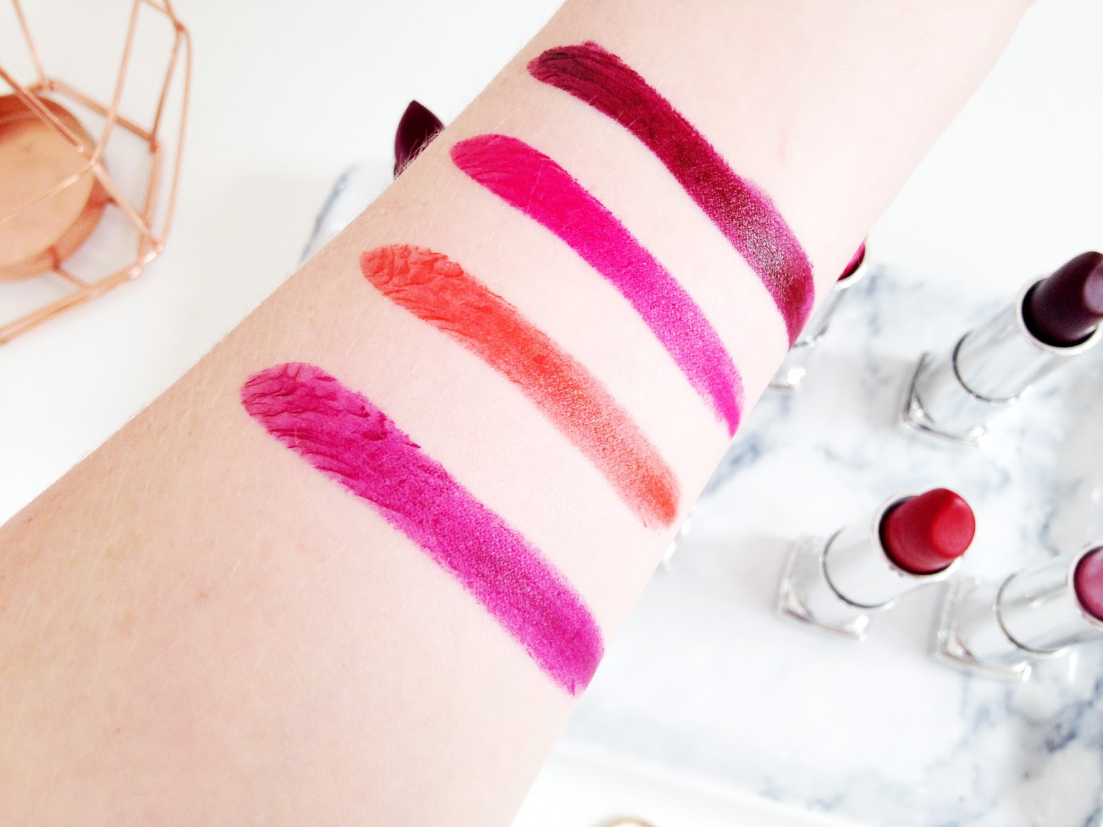 Maybelline Loaded Bolds Lipstick Swatches