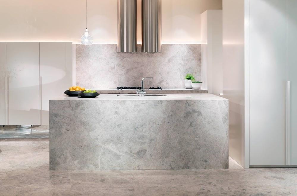 minimalist-speckled-marble-kitchen