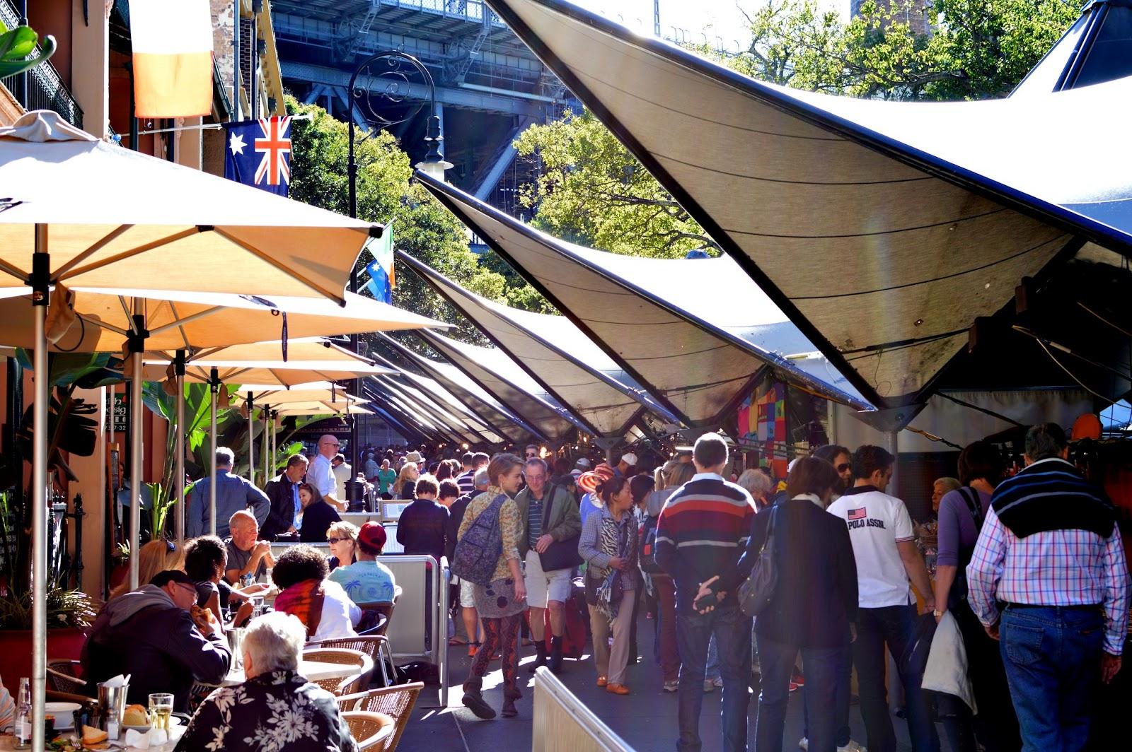 Sydney Markets: The Rocks Markets