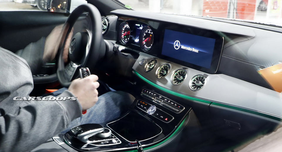 Spied 2019 Mercedes Benz Cls Reveals Its Interior For The First Time