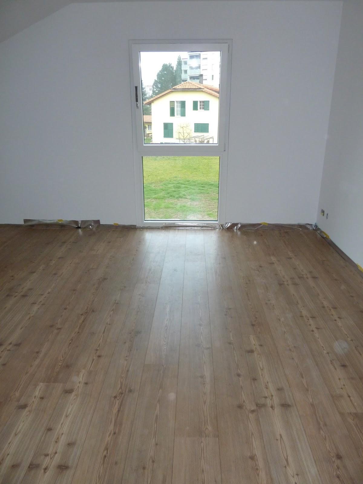 der traum vom haus eigenleistung laminat verlegen und. Black Bedroom Furniture Sets. Home Design Ideas