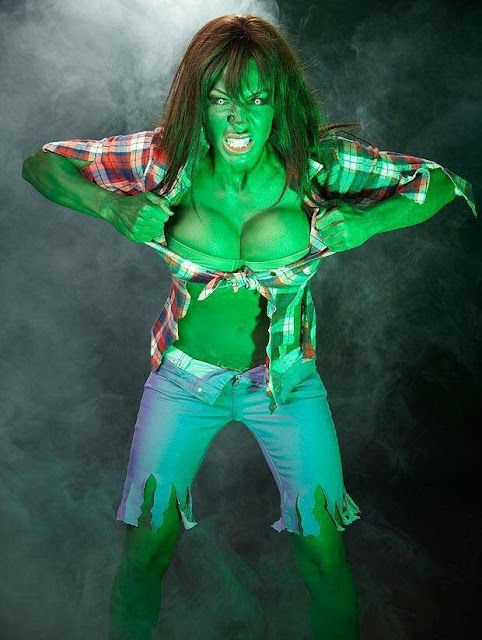 Incredible Hulk Woman