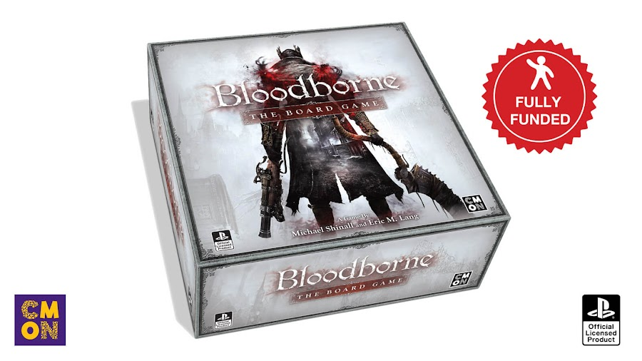 bloodborne board game kickstarter funded