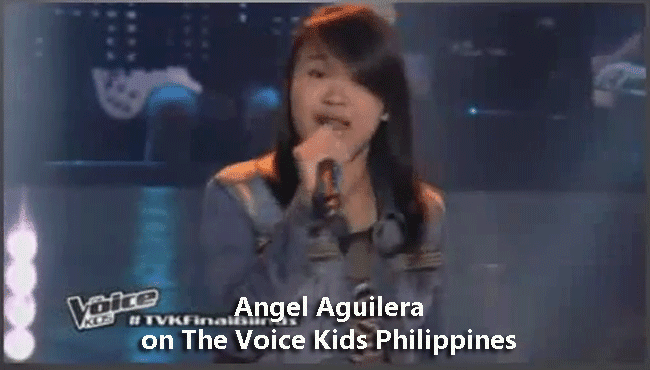 Angel Aguilera on The Voice Kids Philippines