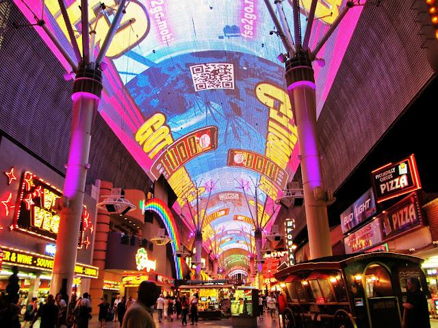 O que fazer na Fremont Street em Las Vegas