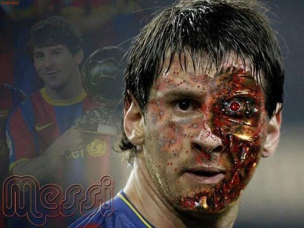 Sẽ sớm xuất hiện Robot đá bóng giỏi hơn cả Messi?