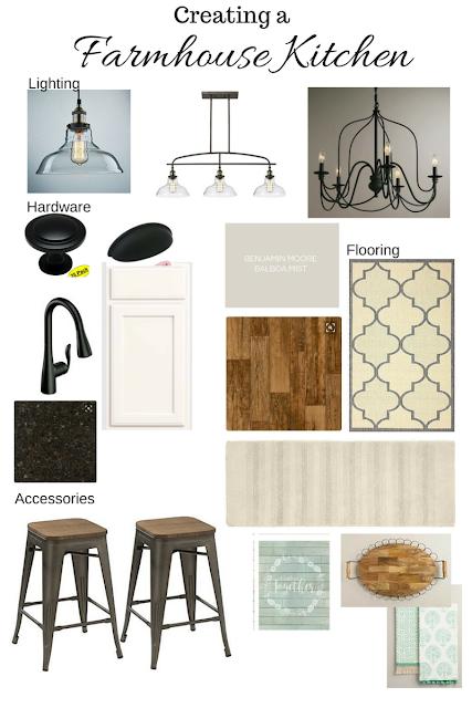 farmhouse kitchen design and links