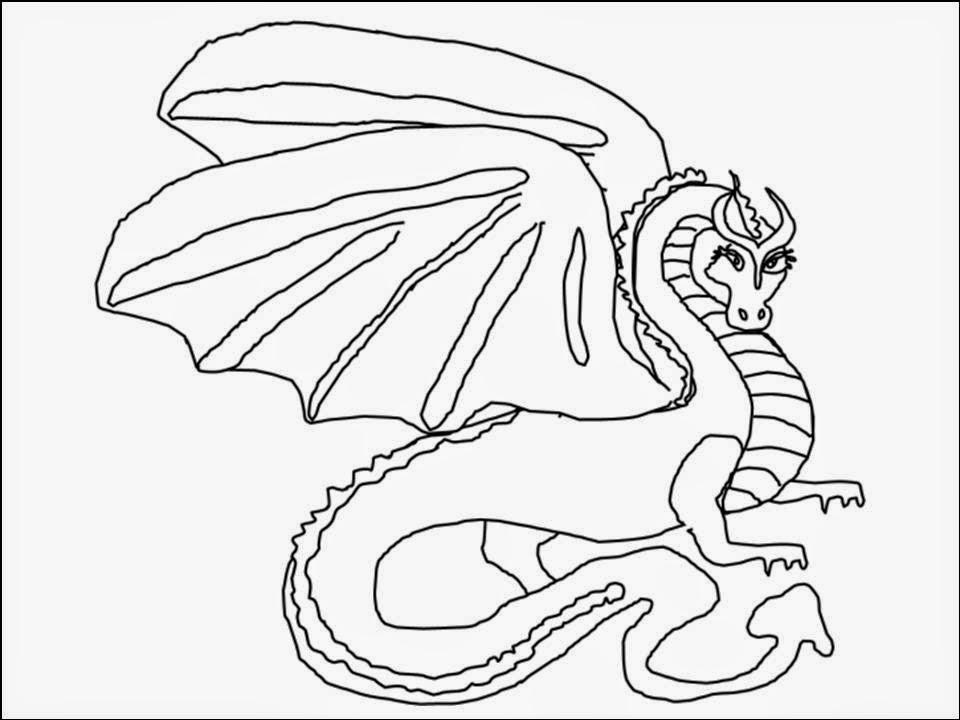 Dragões - Desenhos Para Colorir - Colorir