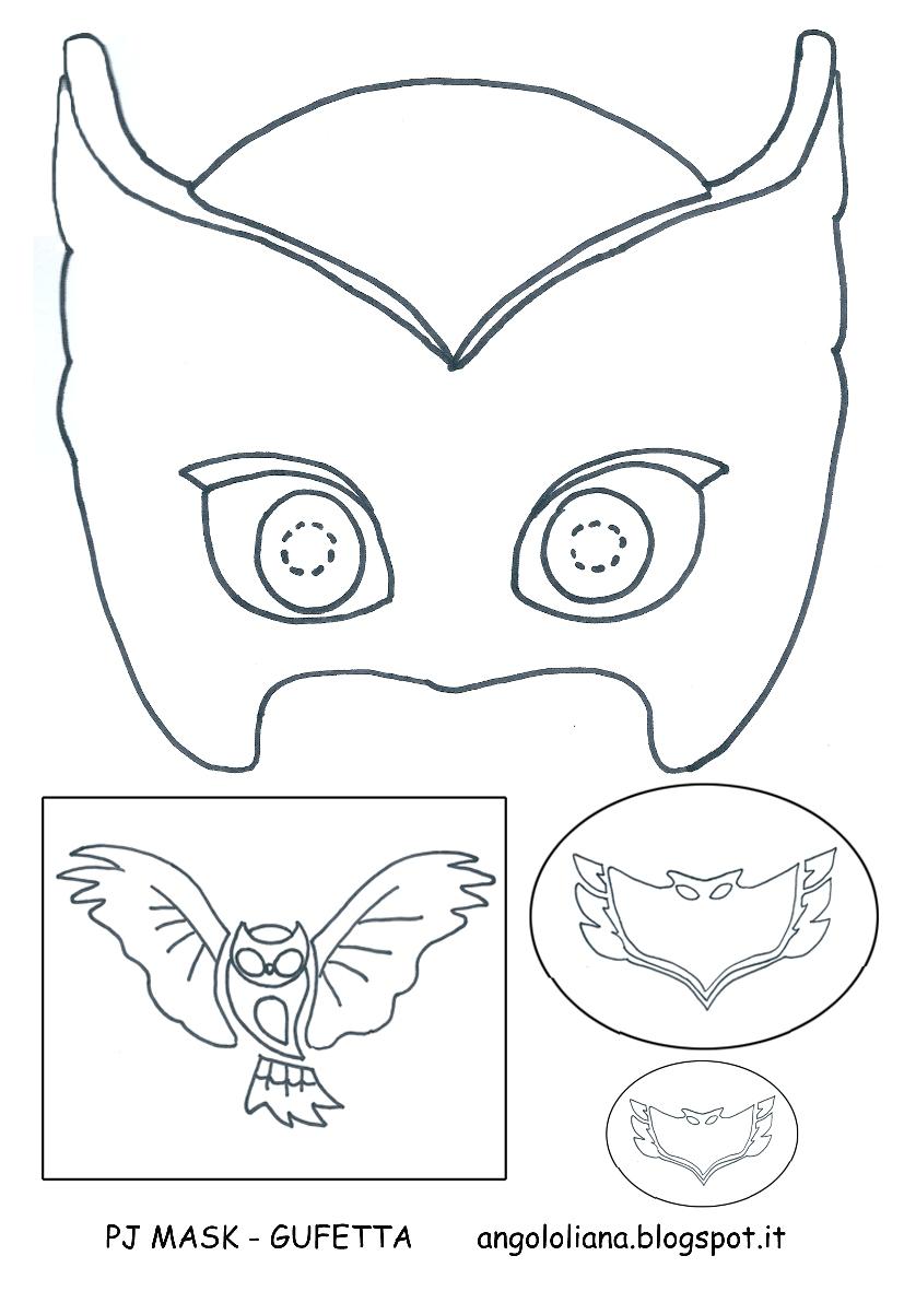 Disegno Dei Pj Masks Superpigiamini Da Colorare  Auto Electrical Wiring Diagram