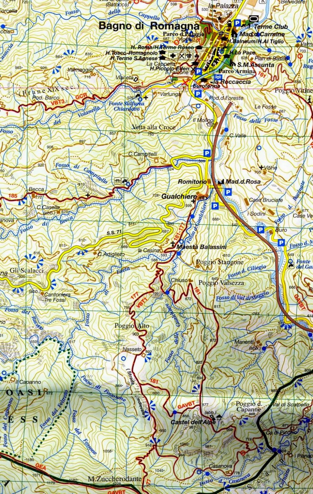 L 39 esploratore faentino escursioni zona bagno di romagna - Percorso gnomi bagno di romagna ...
