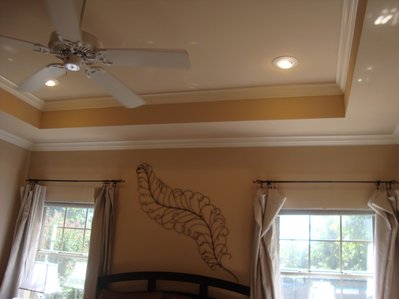 Faux Tray Ceiling Paint Ideas