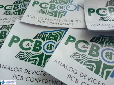 Die-Cut Stickers for Analog Devices Philippines